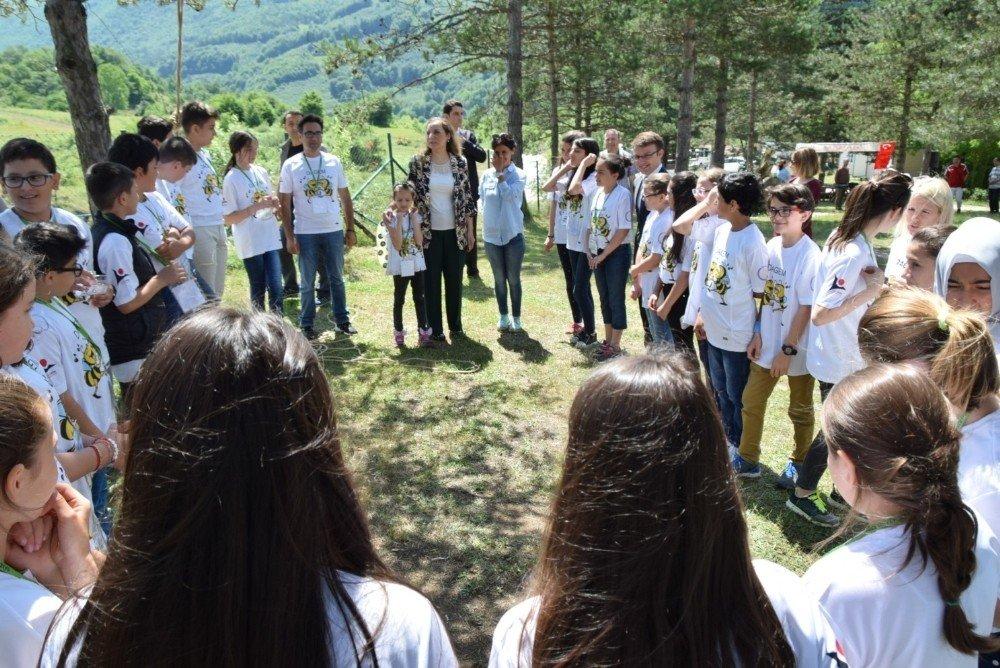 Arı Biziz, Bal da Bizdedir Projesinin sertifika töreni gerçekleştirildi