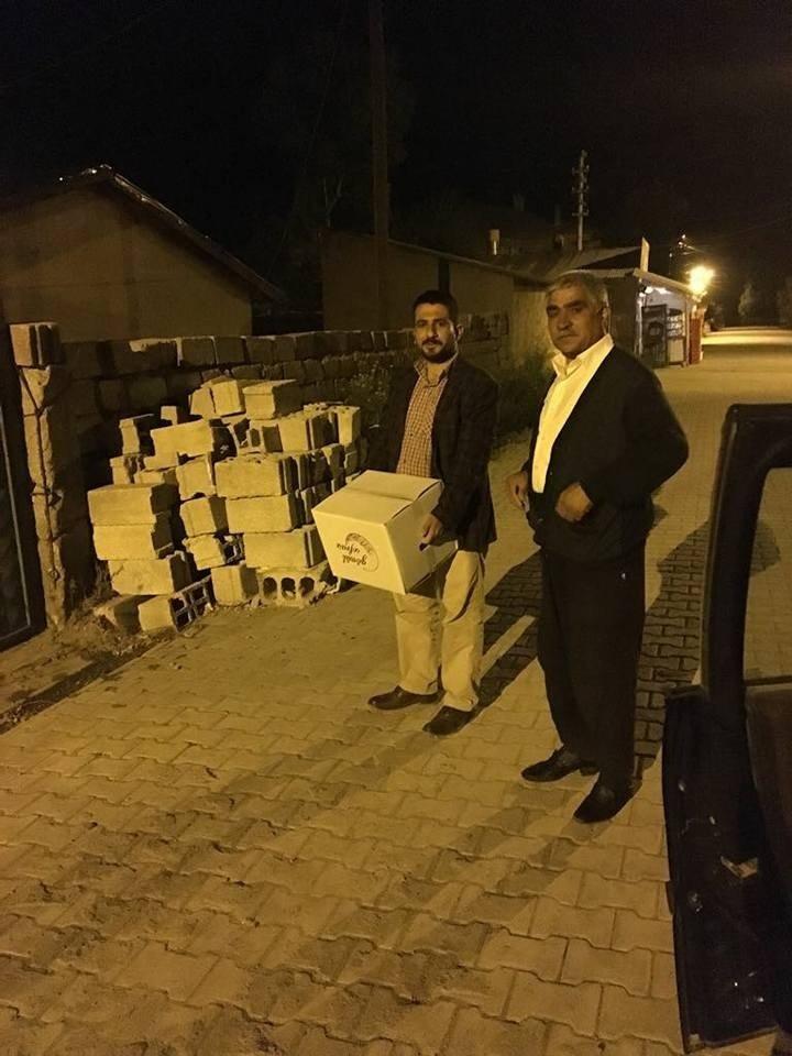 AK Parti'den 750 aileye destek