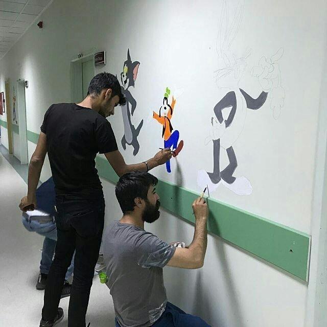 Yaşar Eryılmaz Devlet Hastanesi'nde çocuklar için yeni bir proje