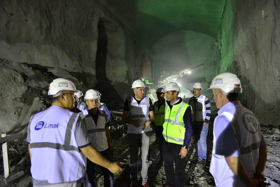 Yusufeli Barajı'nın fiziki yapısının yüzde 62'si tamamlandı
