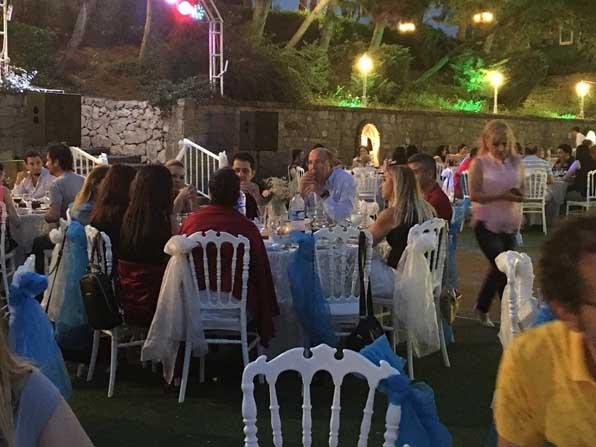 Hastane çalışanları iftar yemeğinde buluştu