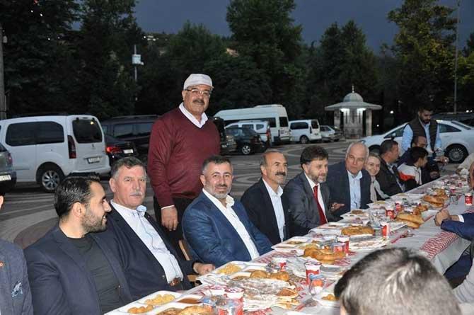 AK Parti Bilecik Merkez İlçe Teşkilatı'ndan iftar