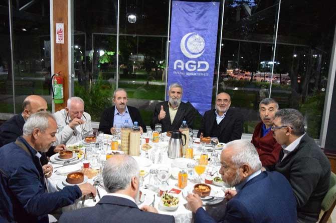 Anadolu Gençlik Derneği Kayseri Şubesi MGV Vefa Gecesi Düzenledi