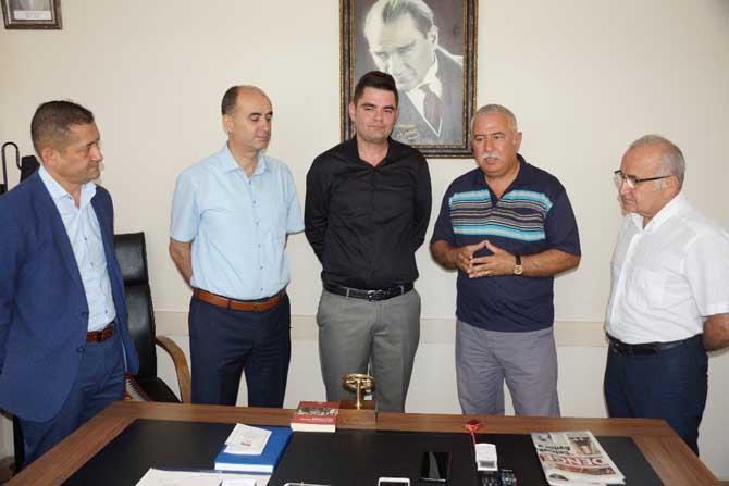 Aydın'da Mayıs ayının şoförü ödülünü aldı