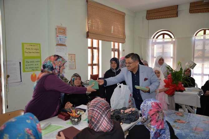 Başkan Yağcı, mukabele programı hatim etkinliğine katıldı