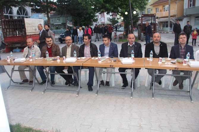 Çavdarhisar Belediyesinden halka iftar