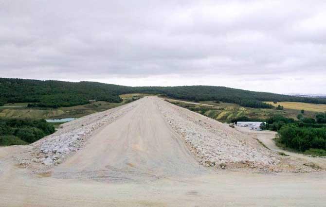 Ladik Göleti 5 bin 600 dekar araziyi sulayacak