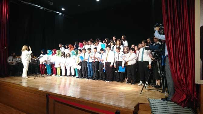 Dünya Mülteciler Günü'nde anlamlı konser