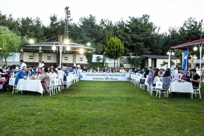 Eğitim camiası HKÜ'nün iftar yemeğinde buluştu