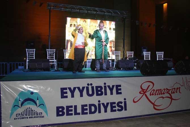 Eyyübiye'de Ramazan etkinlikleri devam ediyor