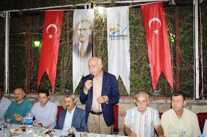 Başkan Seyfi Dingil muhtarlara iftar verdi