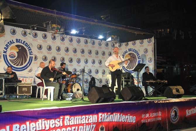 Türk Sanat Müziği'nin unutulmaz eserleri Kartal'da yankılandı