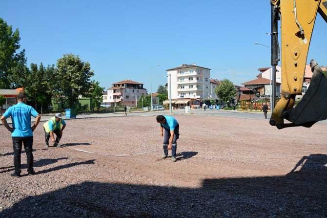 Kartepe Ertuğrul Gazi Mahalle Meydanı için çalışmalar başladı