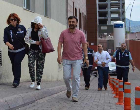 Kayseri'de Fuhuş Operasyonu: 2 Gözaltı