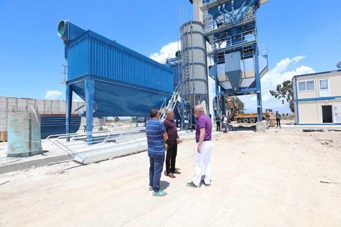 Manavgat Belediyesi'ne yeni asfalt plent tesisi