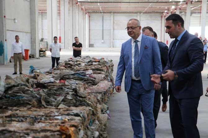 Başkan Ergün'den katı atık bertaraf tesisinde inceleme