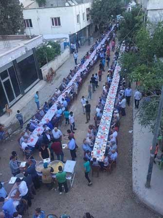 MHP Gaziantep, iftar yemeğinde Nurdağı ilçesinde buluştu