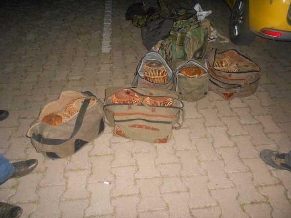 Kaçak avcılara 12 bin 649 TL ceza yazıldı