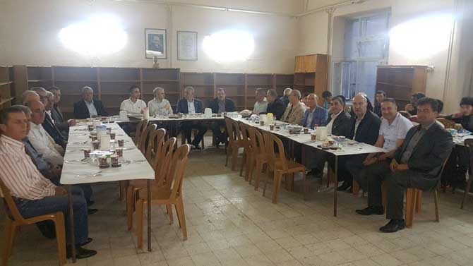 Kula protokolü, STSO'nun iftar programına katıldı