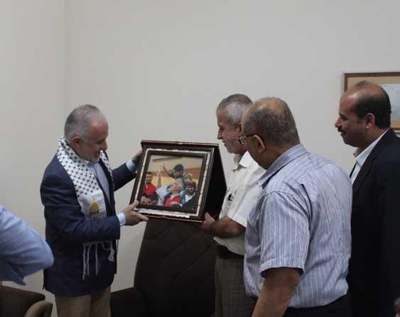 Türk Kızılayı, Gazzeli yetimlerle iftar yaptı