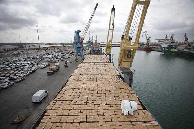 'Şefkat Gemisi', Aşdot limanına ulaştı