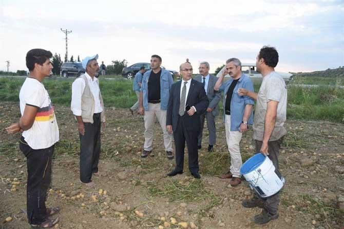 Vali Demirtaş, tarım işçilerinin sorunlarını dinledi