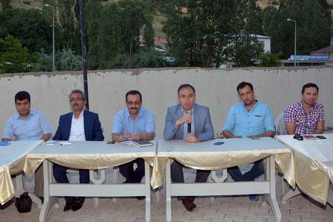 Başkan Akgül'den muhtarlara iftar
