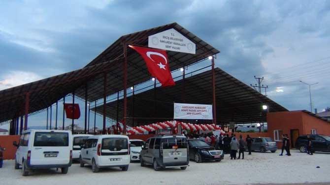 Erciş Sahilkent Semt Pazarı Törenle Hizmete Açıldı