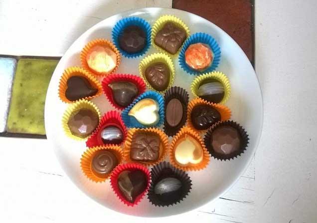 Aydın'da el yapımı 'İncir Çikolata' üretildi
