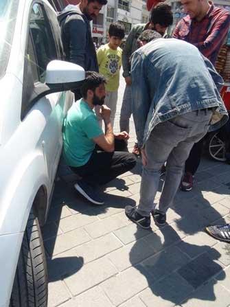 Taksim Meydanı'nda ibretlik görüntü