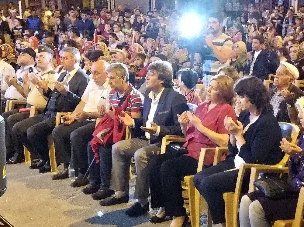 Pınarbaşı'nda Demokrasi ve Milli Birlik Günü etkinlikleri