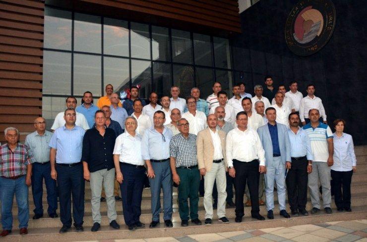 Aydın'daki oda ve borsalar ilin sorunlarını belirledi