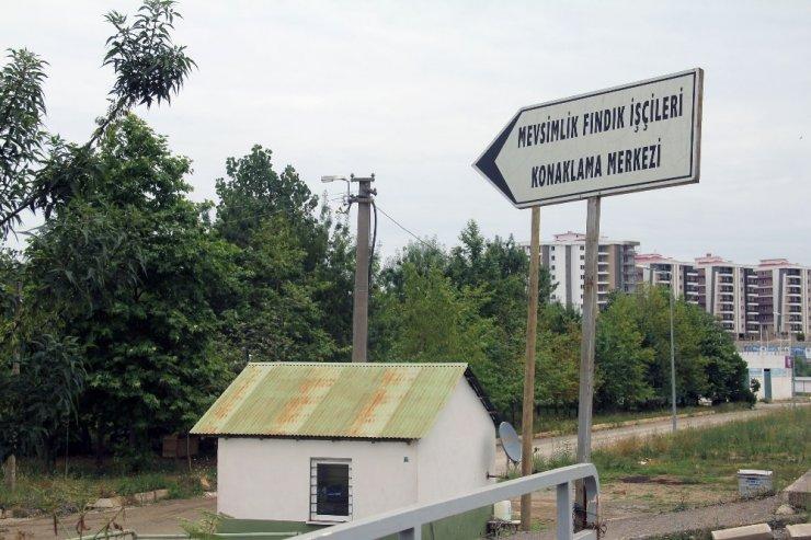 Giresun'da mevsimlik fındık işçilerine modern konaklama merkezi