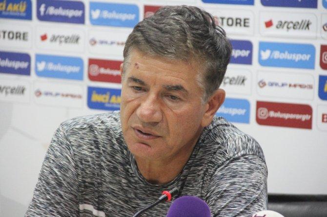 Boluspor - Adana Demirspor maçının ardından