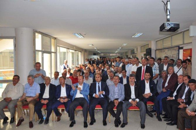 AK Parti'de tanışma toplantısı