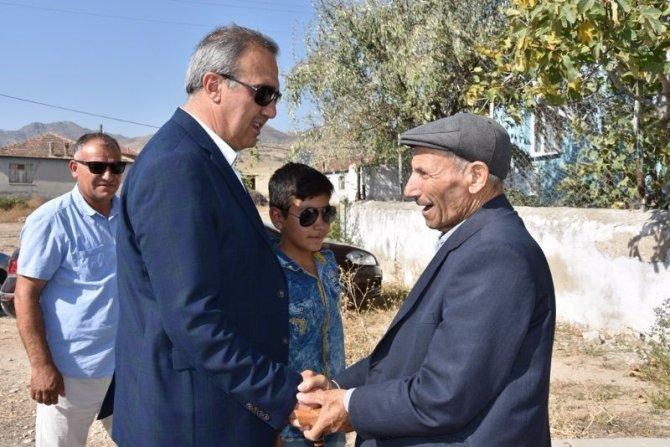 Başkan Karaçoban yatırımları yerinde inceledi
