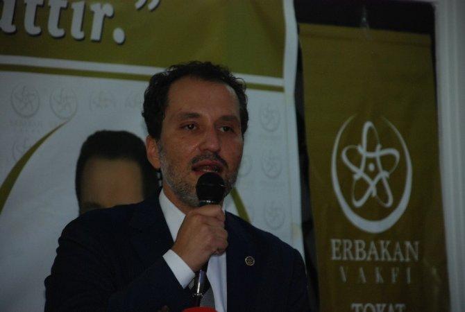 """Erbakan: """"Anadolu'ya Milli Görüş mayasını çalmak için uğraşıyoruz"""""""