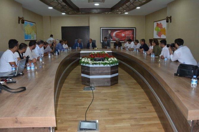 Bölge medyası Siirt'te toplandı