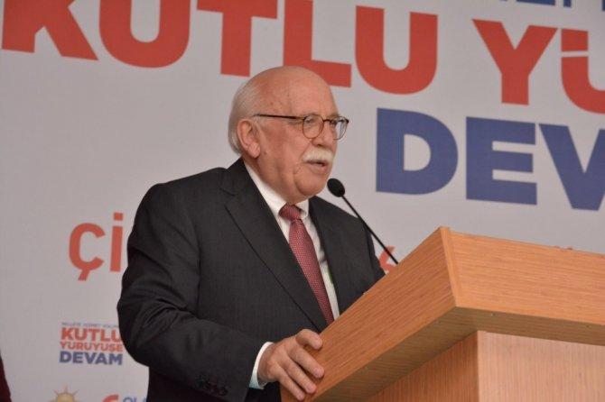 AK Parti Çifteler İlçe Teşkilatı 6'ıncı Olağan Kongresi yapıldı