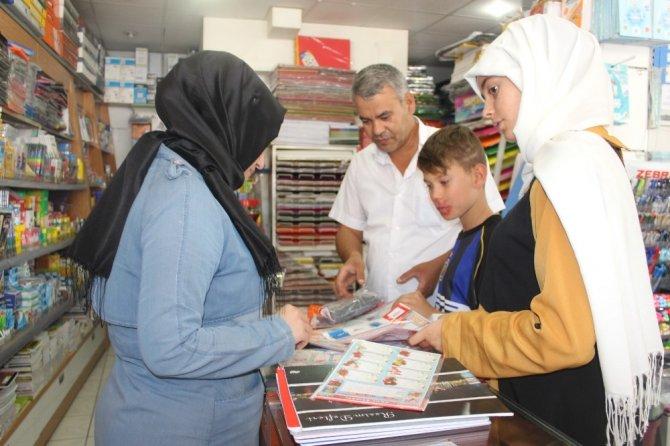 Adıyaman'da okul alışverişi telaşı başladı