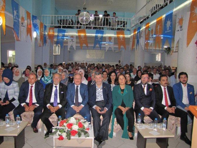 AK Parti Mecitözü İlçe Başkanı Alişan Yaşar güven tazaledi