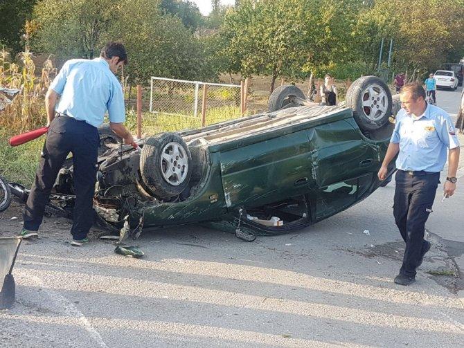 Eskişehir'de trafik kazası: 1ölü, 3 yaralı