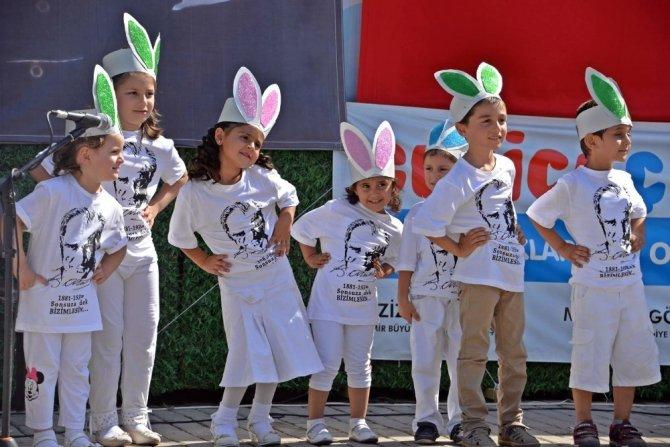 Gezici Çocuk Dünyası minik öğrencileri eğitimlerini tamamladı