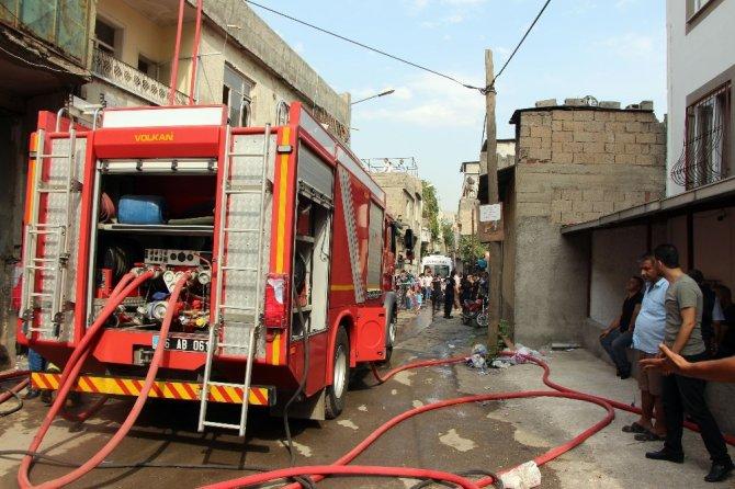 Kahramanmaraş'taki yangın söndürüldü