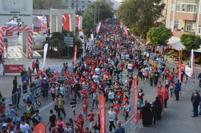 Darıca'da maraton hazırlıklar başladı