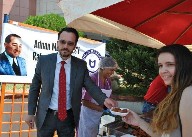 ADÜ, Adnan Menderes'i unutmadı