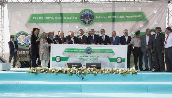 Kayseri ve Türkiye'nin yeni üretim merkezi Beydeğirmeni Besi Bölgesi