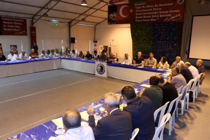 Başkan Öz mahalle birim başkanları ve meclis üyeleriyle bir araya geldi