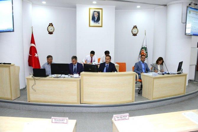 Büyükşehir Belediyesi Eylül ayı toplantısının 2. birleşimini yaptı