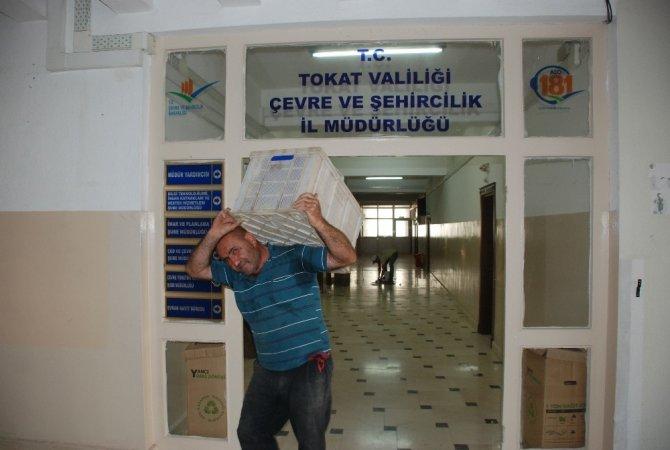 Tokat'ta iki müdürlük yeni binasına taşındı